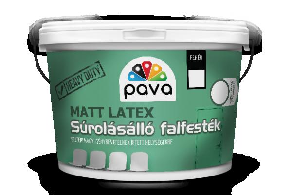 PÁVA™ MATTLATEX beltéri falfesték